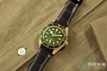 帝舵全新推出碧湾1958型18K腕表